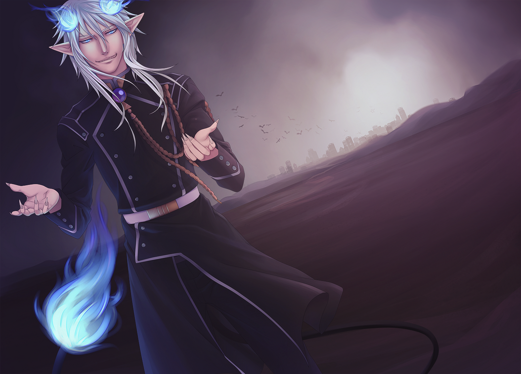 Come With Me to Hell -- AnE Satan by Miisu