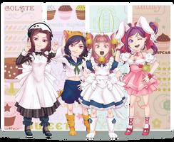 True Cross Cosplay Idols? by Miisu