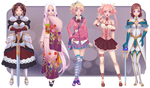 Paypal Adoptables Set 03 -- The Variety Pack!