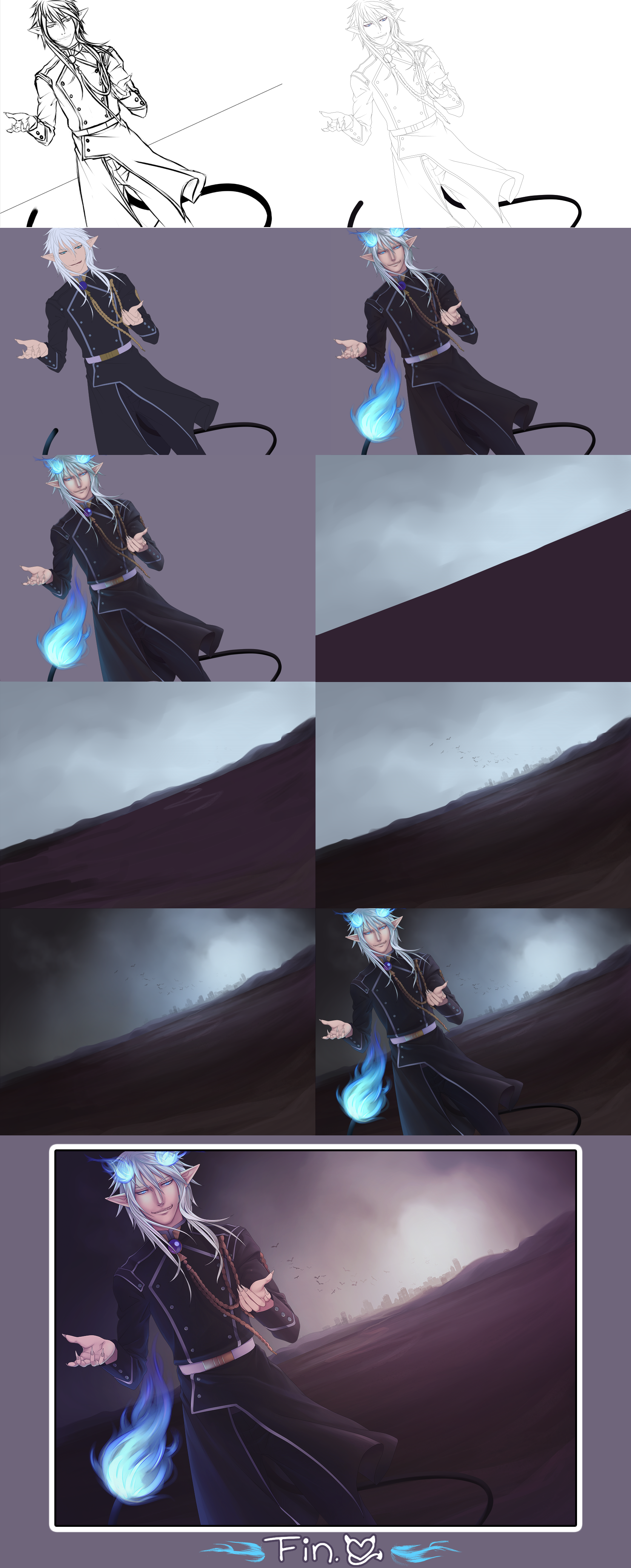 Progress of Come with Me to Hell by Miisu