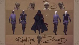 Draw Me A Drow Contest Entry-- Rhyl'lyn Zinard
