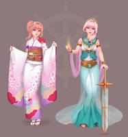 Lemuria - Traditional by Miisu