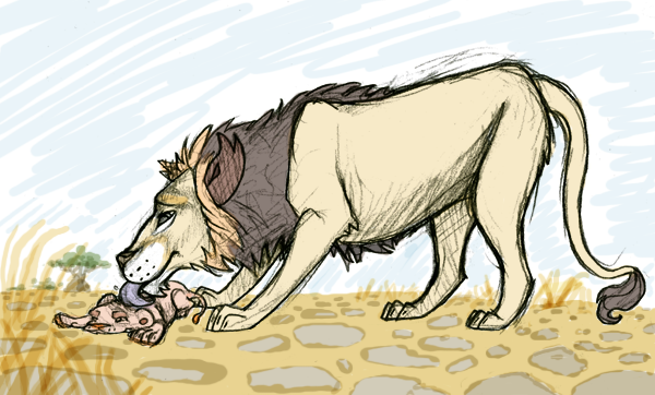 Lion? by KelpGull