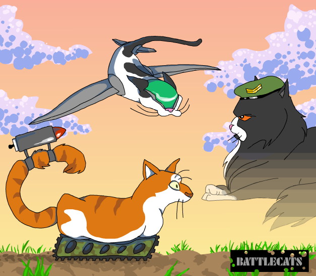 Battlecats by KelpGull