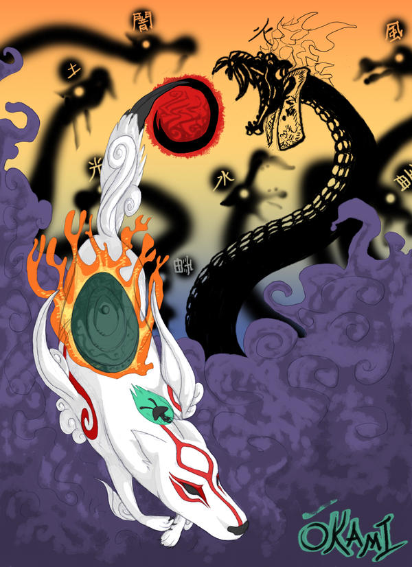 Amaterasu's Flight by KelpGull