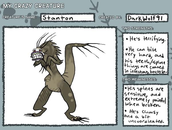 Stanton, the Horrifying by KelpGull