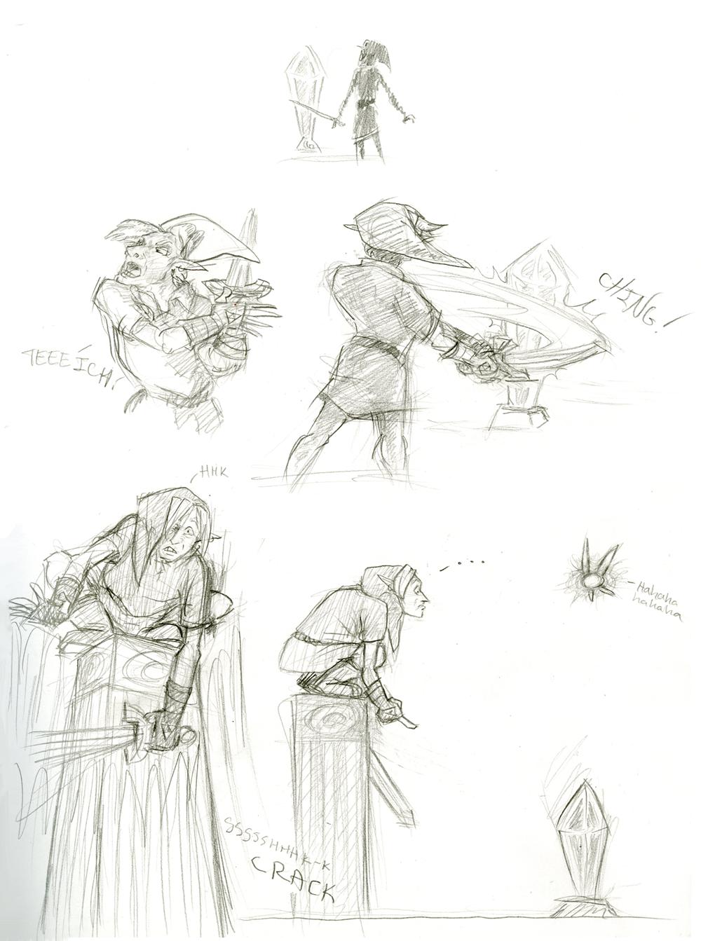 Zelda Comic by KelpGull