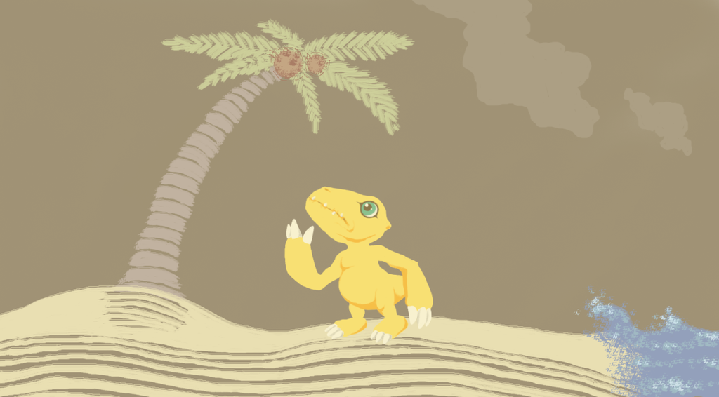 Agumon by KelpGull