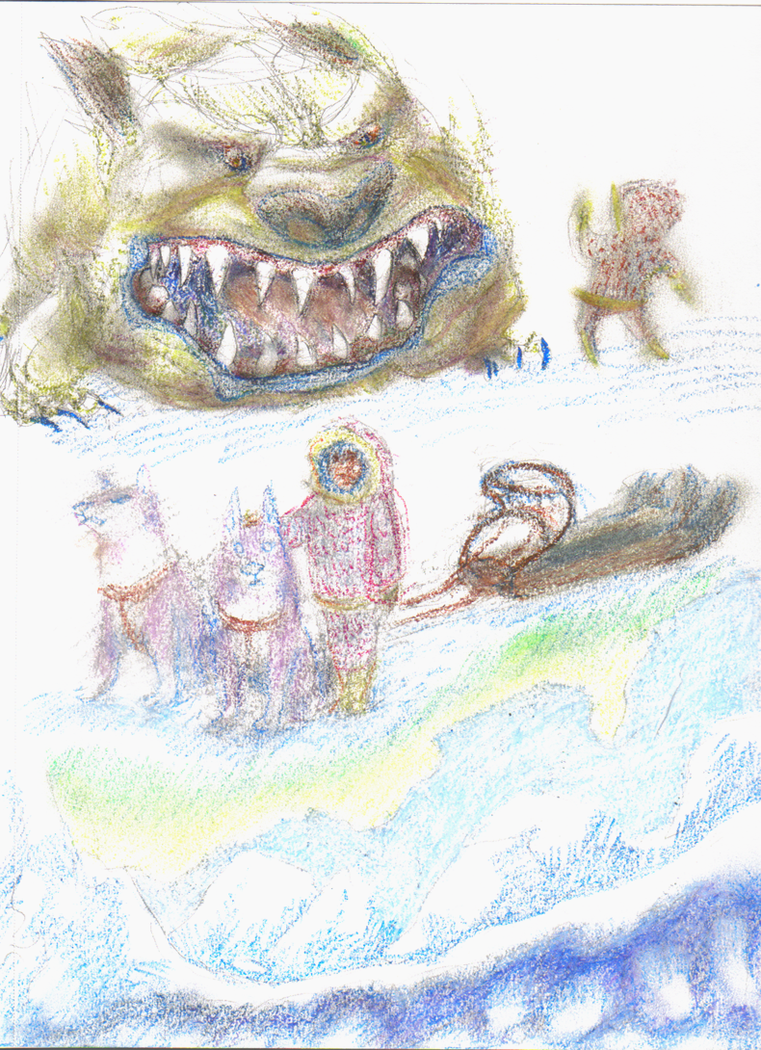 Snowmonster by KelpGull