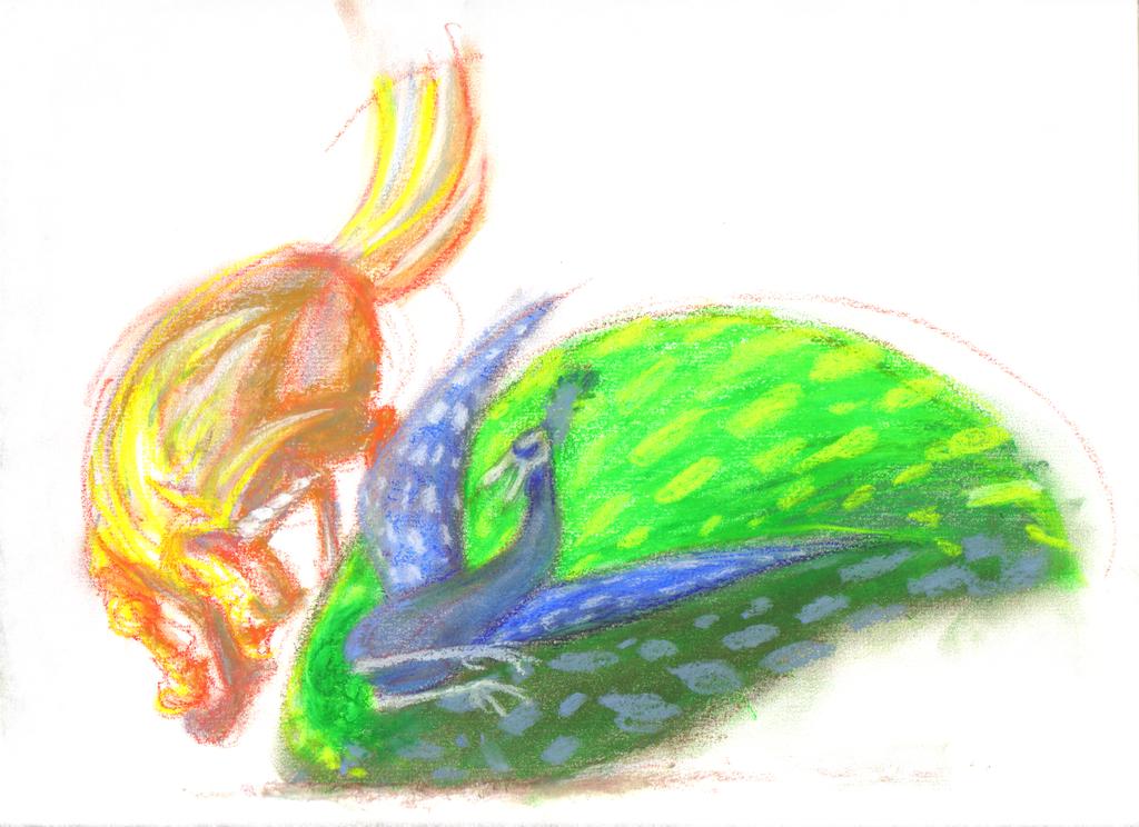 Unicorn VS Peacock by KelpGull