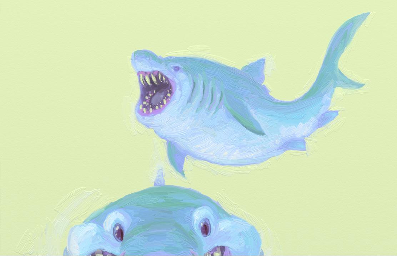 Sharksss by KelpGull