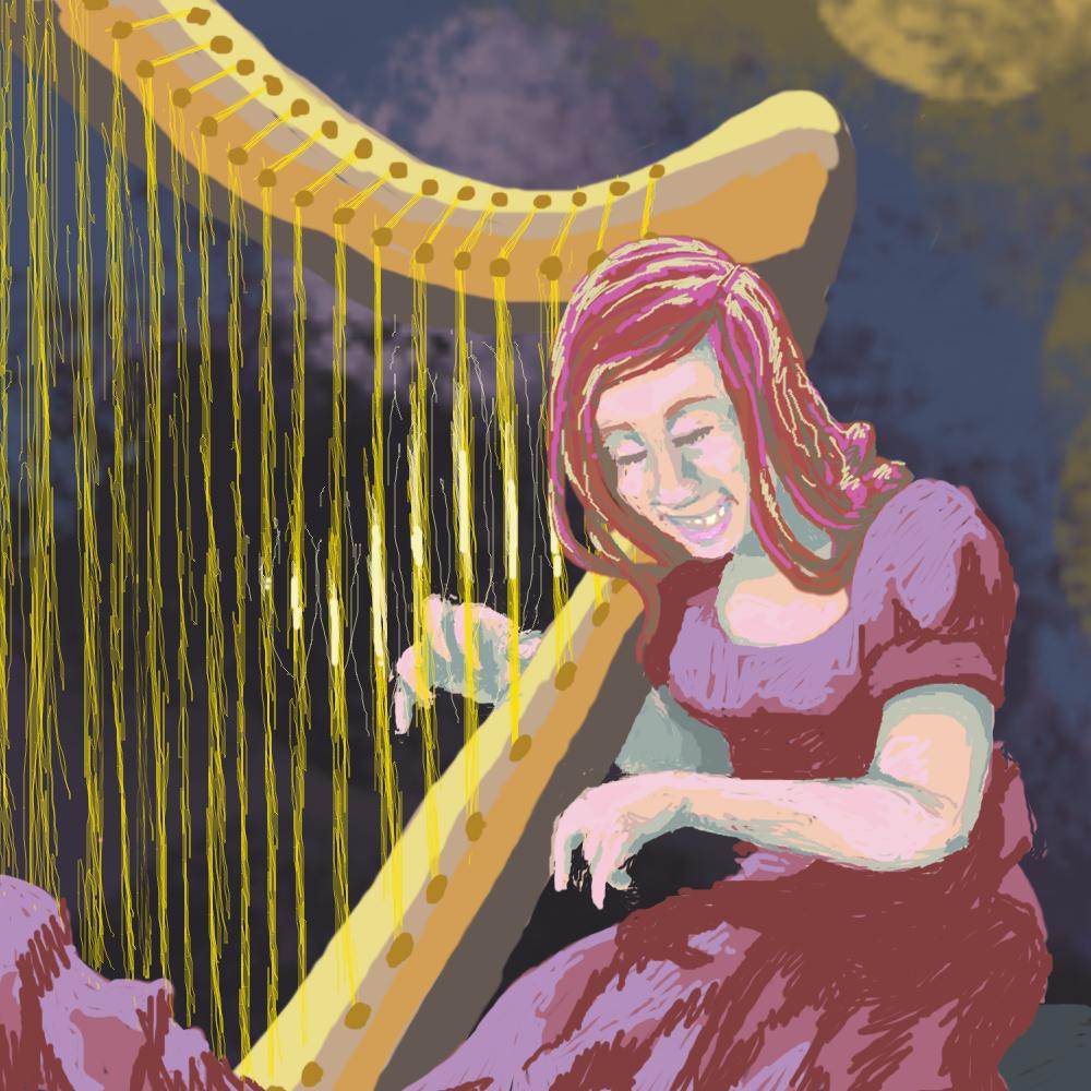 Joanna Newsom by KelpGull