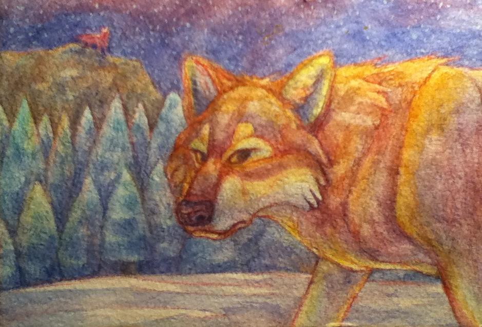 Paintwolf by KelpGull