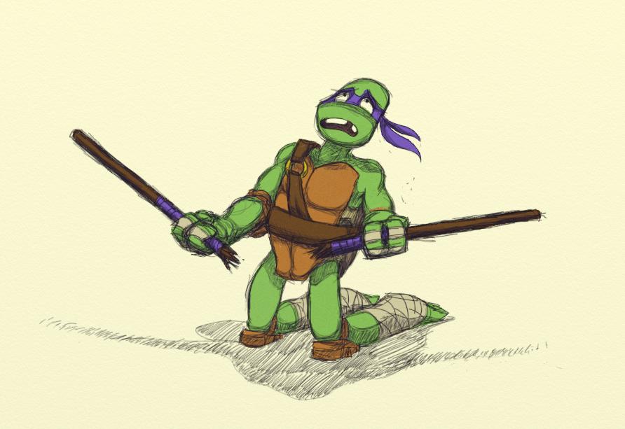 Donatello by KelpGull