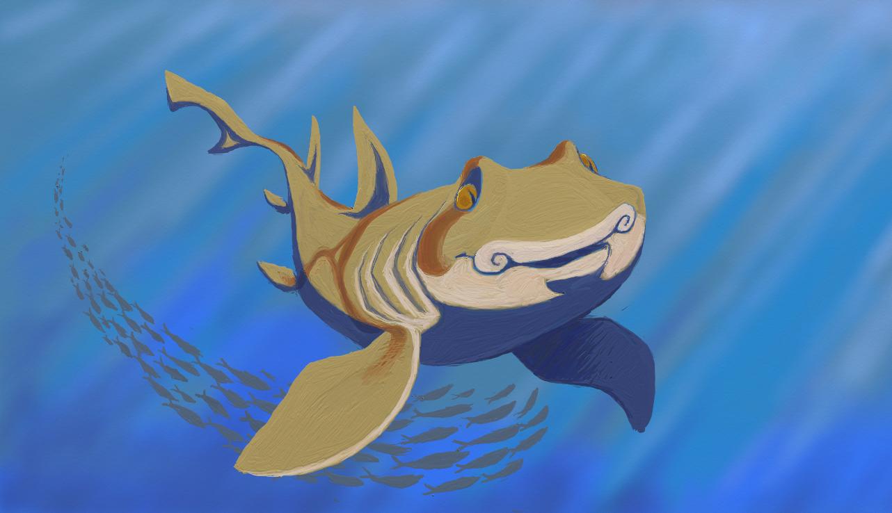 Port Jackson Shark by KelpGull