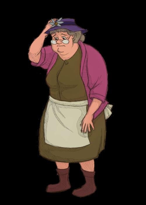 Widow Tweed by KelpGull