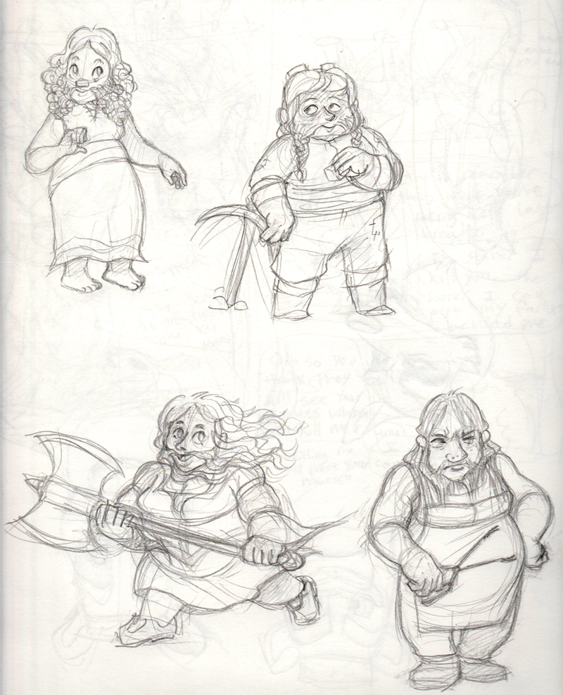 Dwarf Ladies by KelpGull