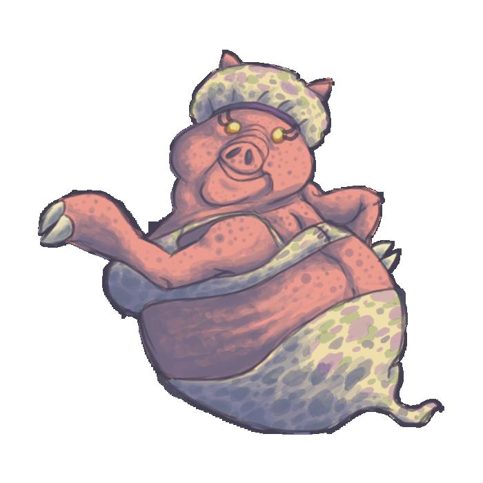 Miss Petunia by KelpGull