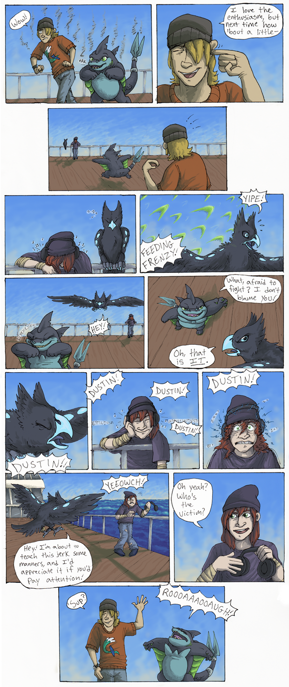 TDA Sparring Event PG 3 by KelpGull