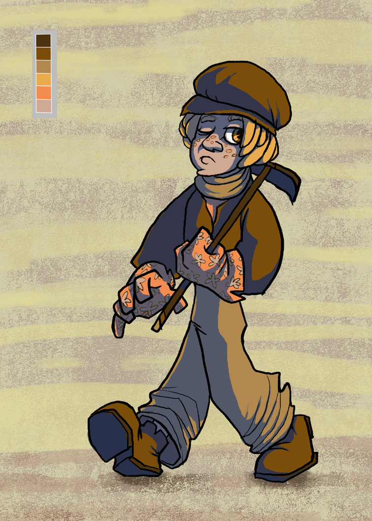 Sweetpotato Farmboy by KelpGull