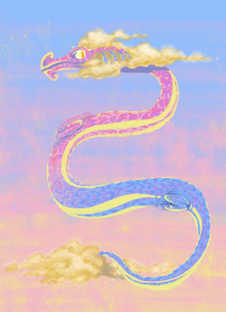 Dawn Dragon by KelpGull