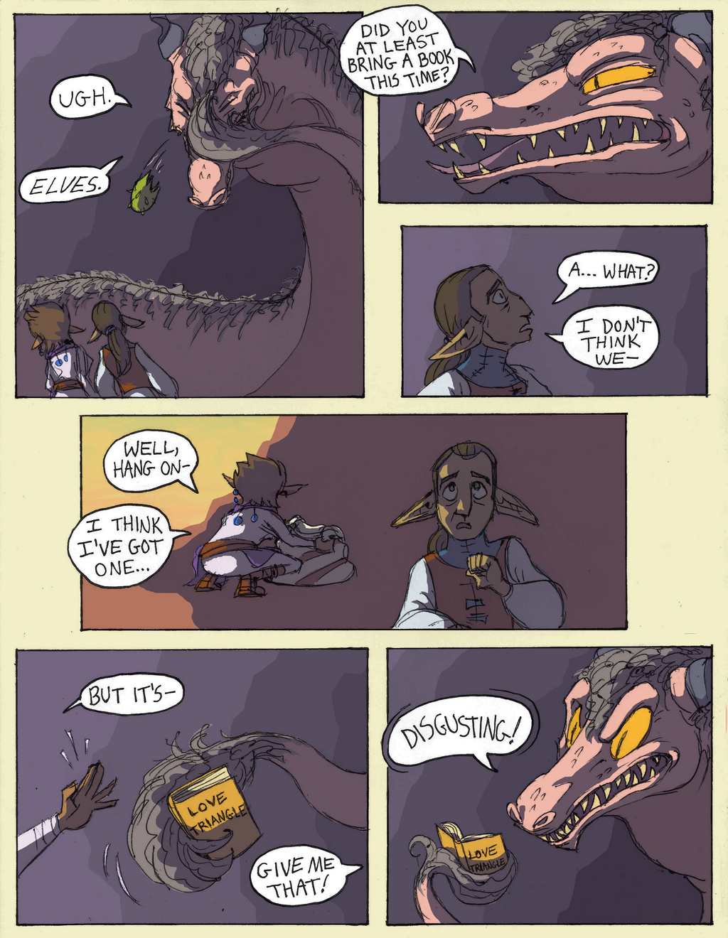 Tooth of the Worm - P8 by KelpGull