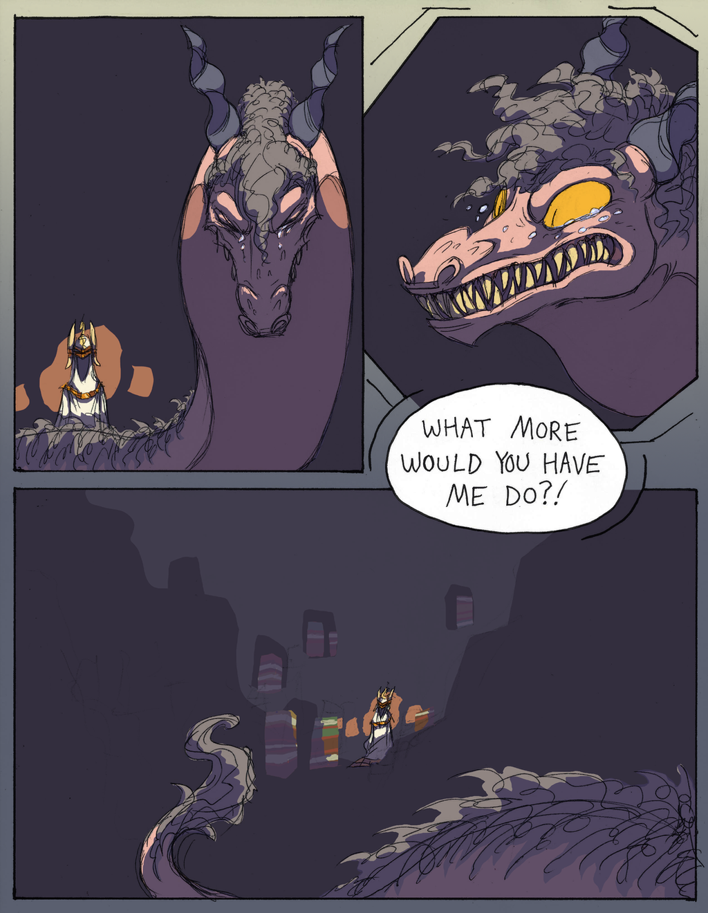Tooth of the Worm - EPILOGUE - P3 by KelpGull