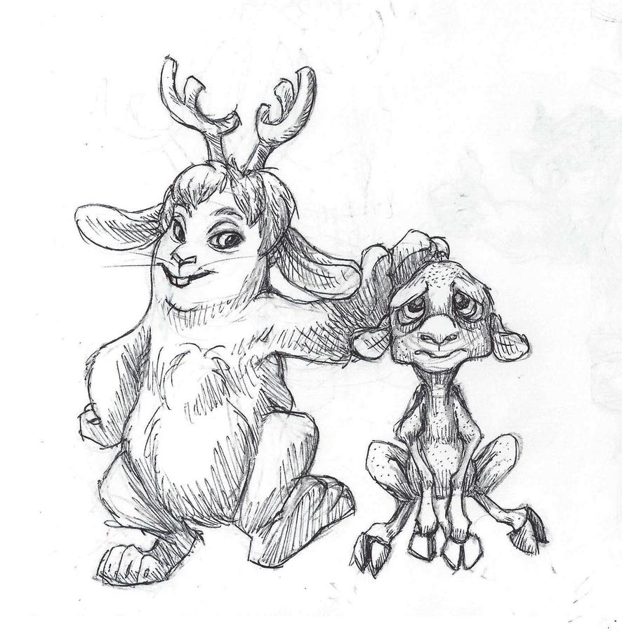 Disney Inktober #12 - Pixar by KelpGull