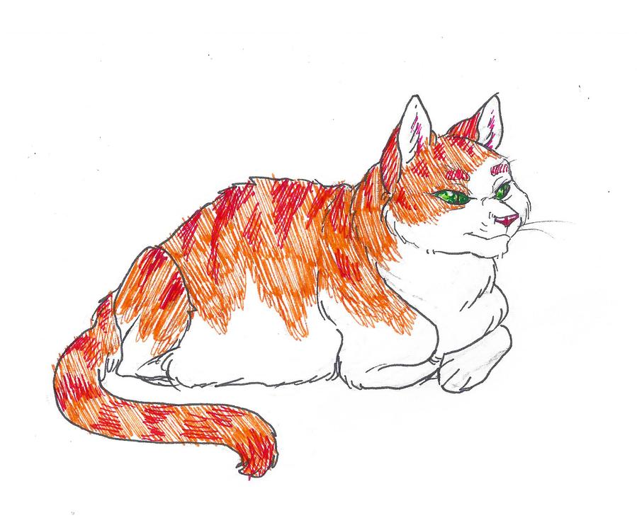 Inktober #16 - Fat by KelpGull