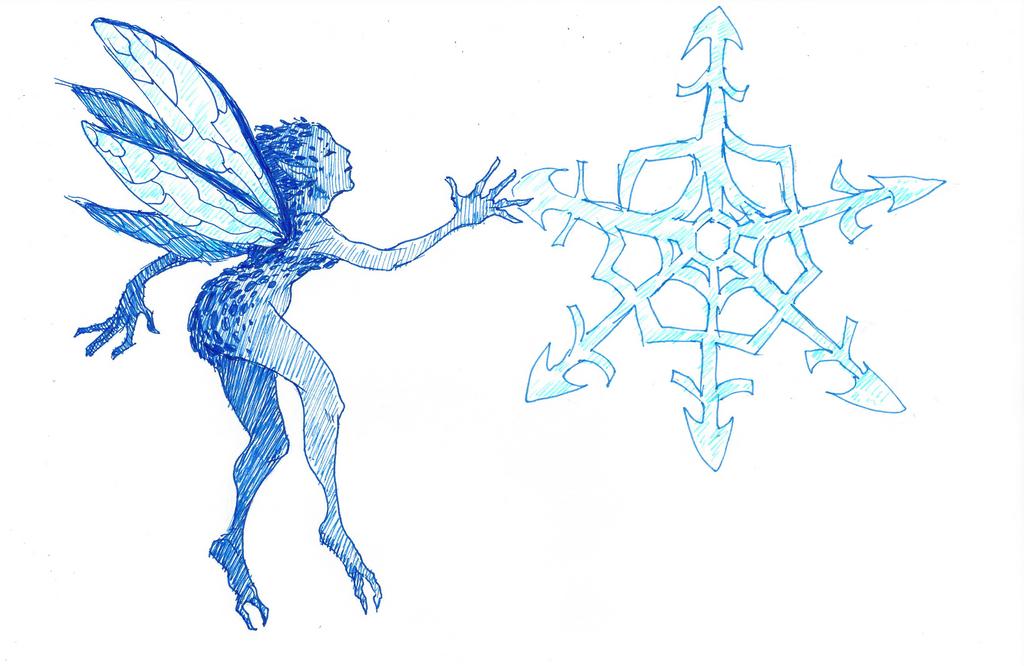 Disney Inktober #16 - Winter by KelpGull