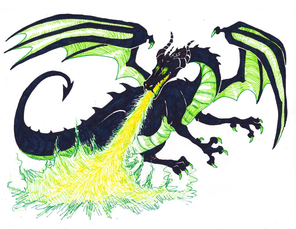 Disney Inktober #30 - Villain by KelpGull