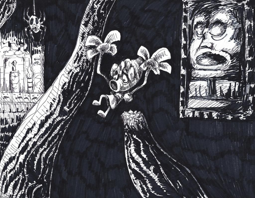 Inktober Bonus - Deku Link by KelpGull