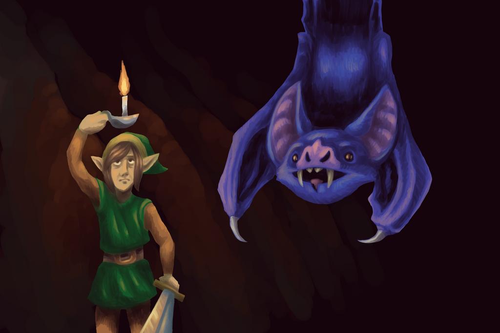 Link VS Ache by KelpGull