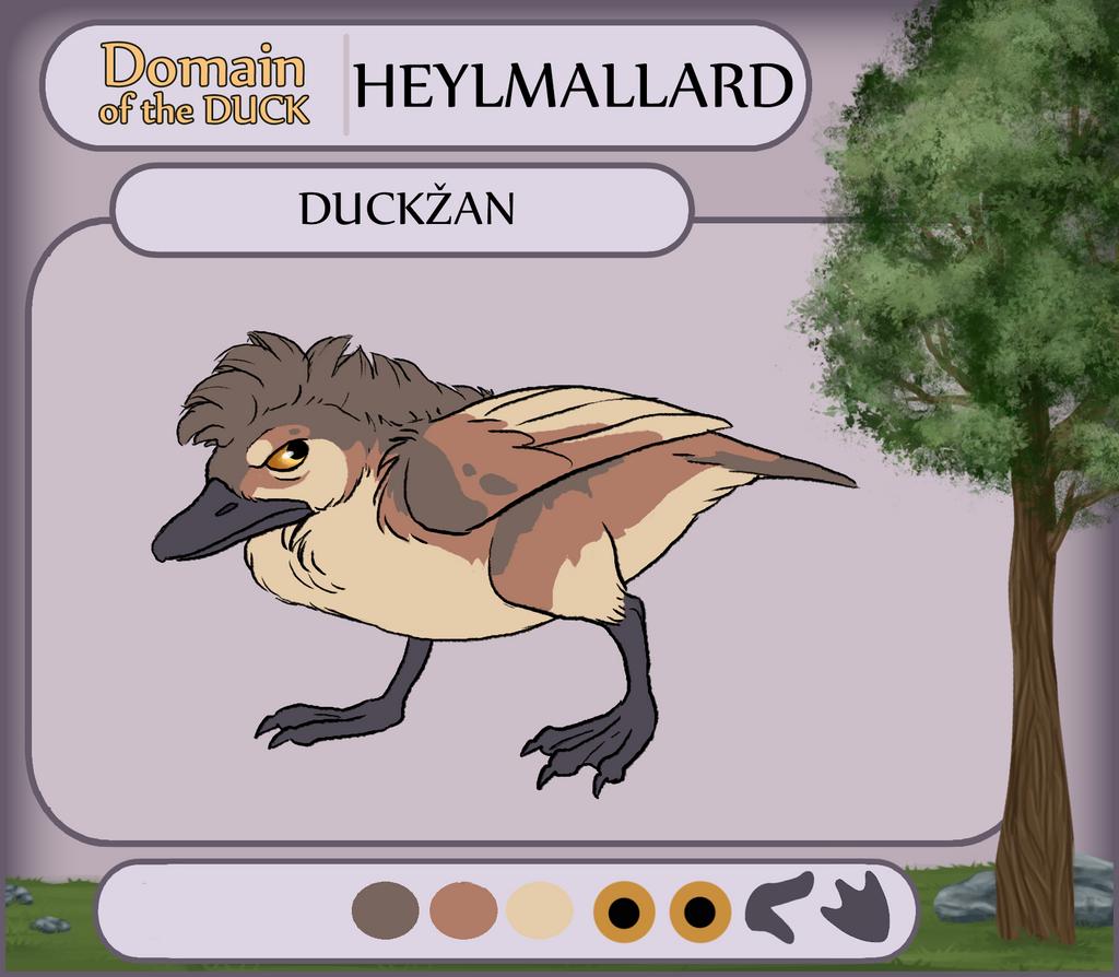 DotD - Duckzan by KelpGull
