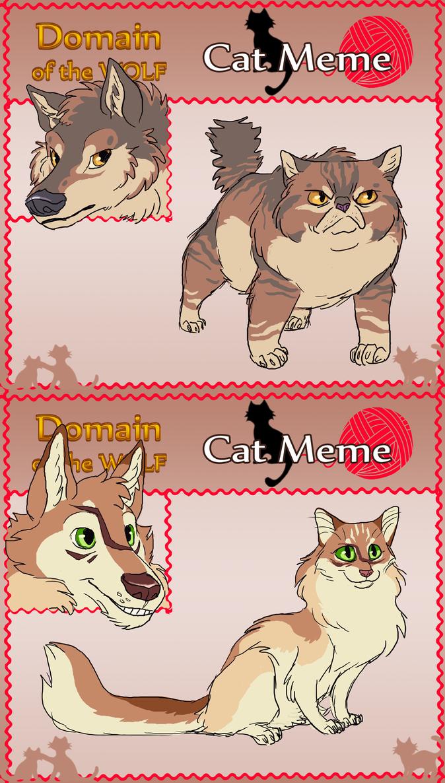 DotW Cat Meme - Ruzan and Ludko by KelpGull