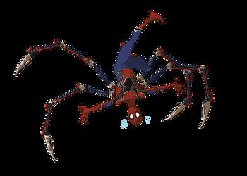 Spiderman by KelpGull