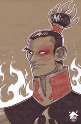 Firelord Zuko by GhostHause