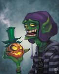Green Goblin: Yearbook Photo