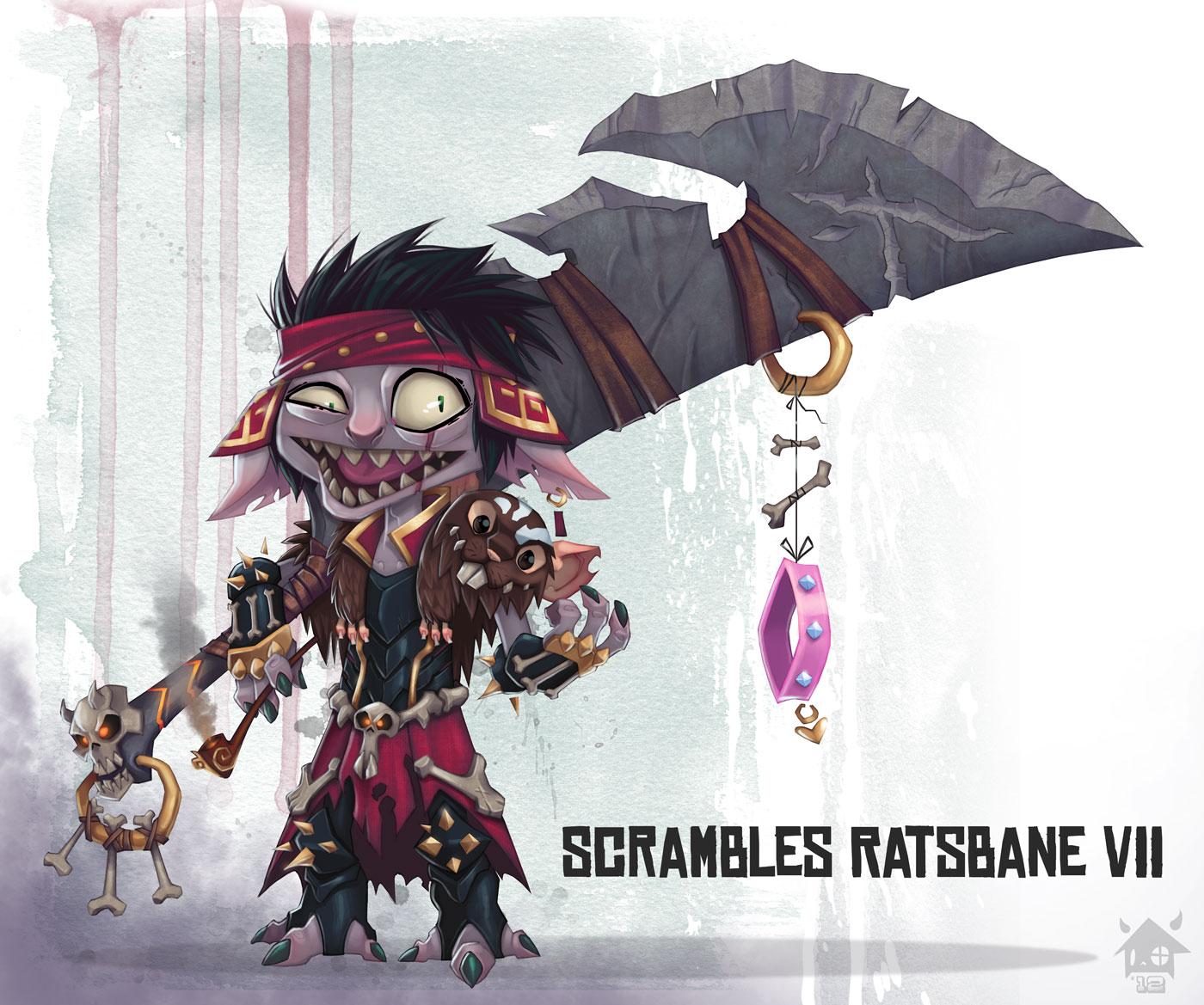 Scrambles Ratsbane VII by GhostHause