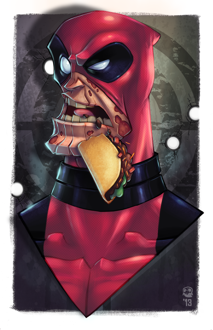 Deadpool by GhostHause