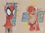 Wizard World Austin Preview:  Spidey and Flash!