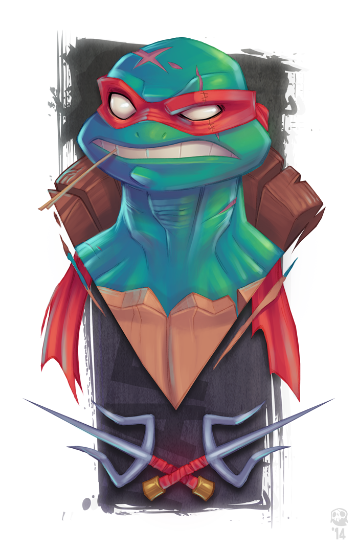 Raphael Is Cool But Crude. by GhostHause