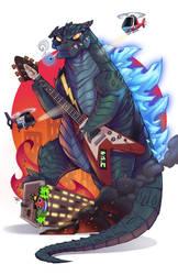 Godzilla vs Speed Metal