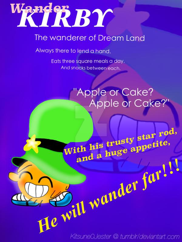 Wander Kirby by StardustTrooper
