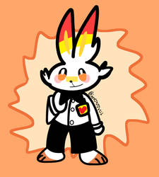 Scorbunny in Hit the Road by StardustTrooper
