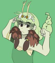 Artemis with BIG GUNSSS