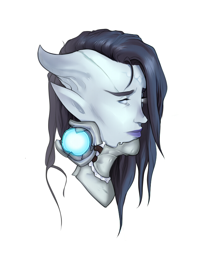 Draenei by MissPendleton
