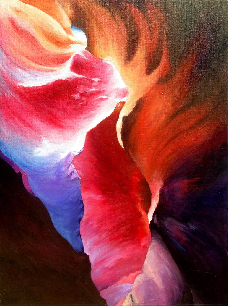 Antelope Canyon by Yokko