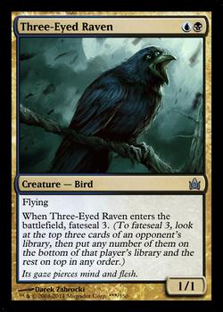 MTG Funcard - Three-Eyed Raven