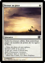 MTG Alteration - Swords to Plowshares